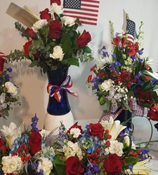 Patriotic Themed Flowers