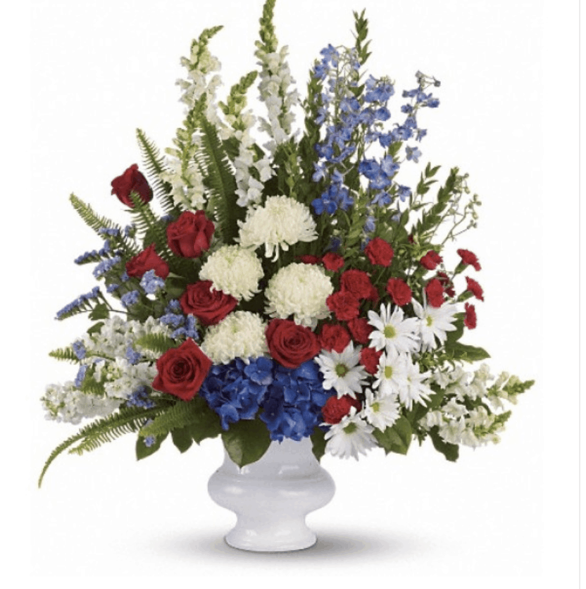 Celebrate Summer and 4th of July with Flowers