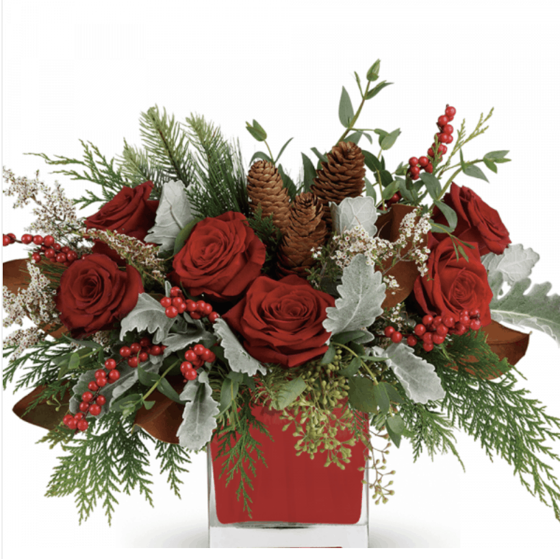 Impress Friends, Family, and Others on Your Christmas Gift List with Festive Flowers