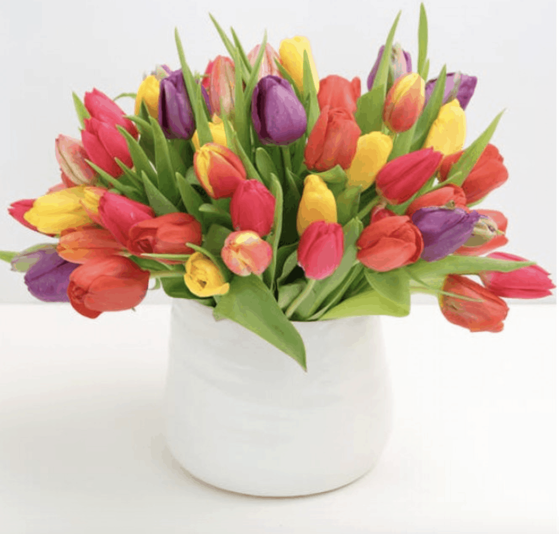 Welcome the Season with Spring Flowers For Curbside Pickup or Non-Contact Delivery