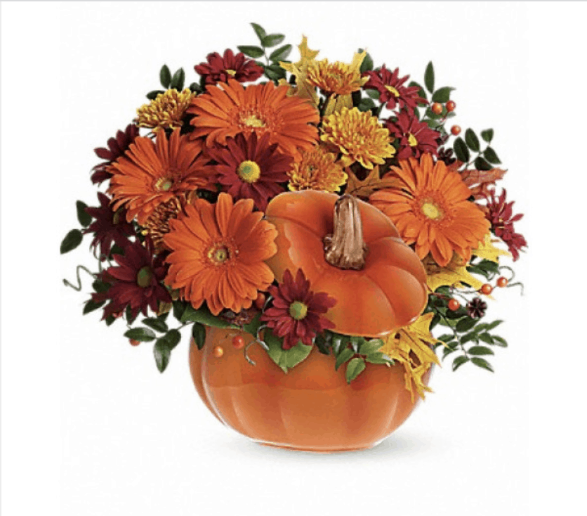 Fun Floral Ideas For Halloween