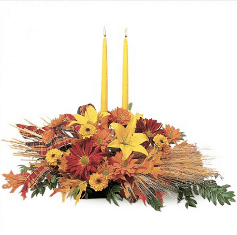 Celebrate Thanksgiving with These Floral Ideas