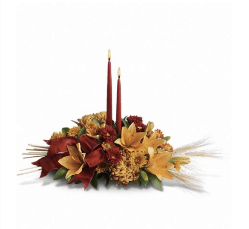 Make Your Thanksgiving Table Glow with Centerpieces and Other Floral Displays