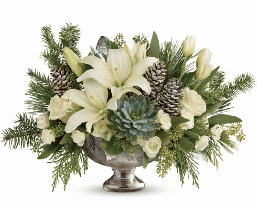 Add Stunning Custom Floral Designs to Your Low-Key Holiday Party