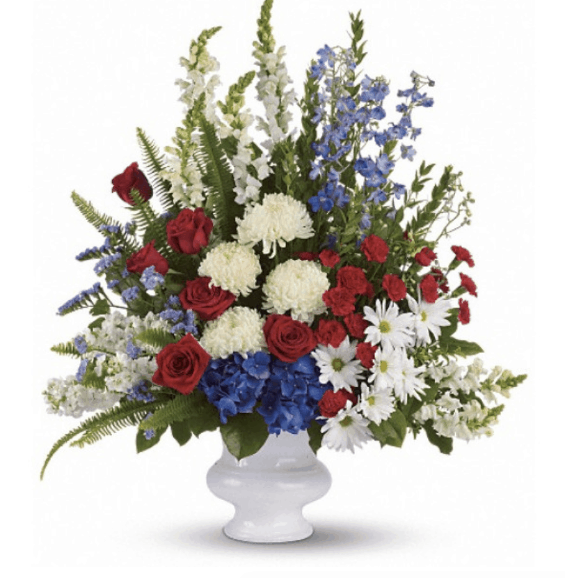 Decorate with Patriotic Flowers and Plants for Memorial Day